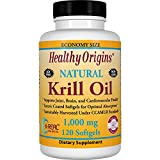 Krill Oil 1000mg - Antarctic Krill 120Gels - Healthy Origins