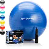 DYNAPRO Exercise Ball - 2,000 lbs Stability Ball - Professional Grade – Anti...