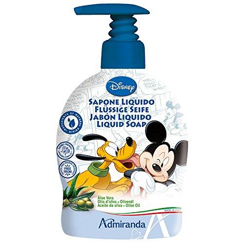 Savon Liquide Mickey Mouse Aloe Vera et Olive Oil 300 ml,DISNEY,