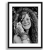 Box Prints Janis Joplin ikonenhafter