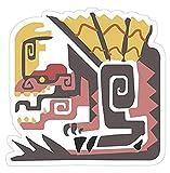 Monster Hunter World - Anjanath, Monster Hunter Decal Sticker - Sticker Graphic - Auto, Wall, Laptop, Cell, Truck Sticker for Windows, Cars, Trucks