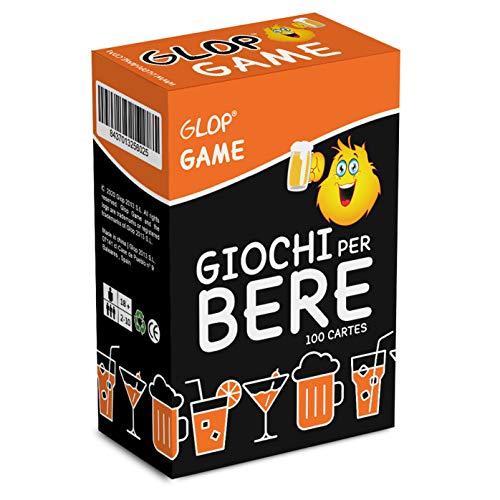 Glop Game - Giochi per Bere - Giochi Alcolici per Feste - Giochi da Tavolo per Adulti - Giochi di Carte Adulti - Giochi di società - Dinking Game - Idee Regalo