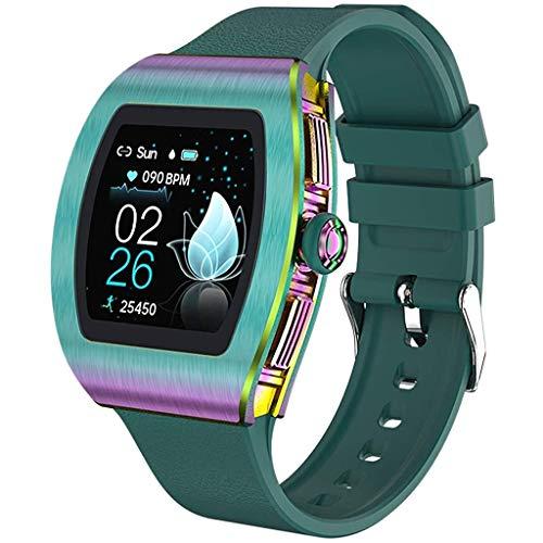 Relojes de pulsera Reloj Inteligente, Rastreador de Ejercicios para Dormir, Todo El Día Heärt Räte, Podómetro, Recordatorios de Mensajes, Relojes de Mujer Impermeables IP68 Para Hombres, para Android