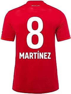 ZAIYI-Jersey Soccer Football T-Shirt (Javi Martinez-8 Football Sportswear Men's and Women's T-Shirts Fans Must. Football Suit,