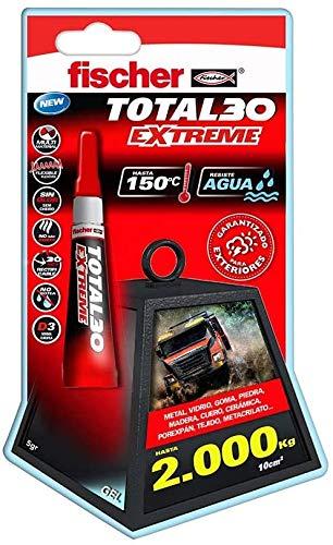 fischer Adhesivo Total 30 Extreme (Envase 5 gr), 541727, Trasparente