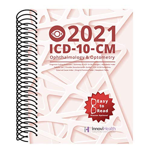 Compare Textbook Prices for Ophthalmology & Optometry ICD-10-CM Coding for 2021  ISBN 9781640721098 by innoviHealth