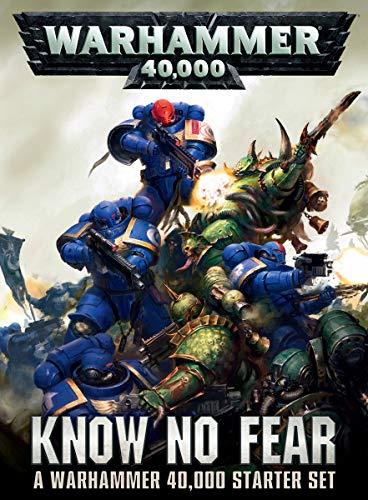 Games Workshop 60010199017' Warhammer 40000 Know No Fear English Model Game