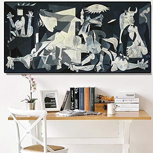 ganlanshu Famosos Cuadros de Arte, lienzos, Cuadros, Pintores Famosos, réplicas, murales, decoración del hogar,Pintura sin Marco,45x103cm