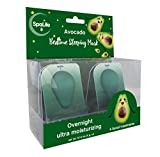 Spa Life Anti Aging Bedtime Overnight Sleeping Avocado Mask 4 pack (Avocado)