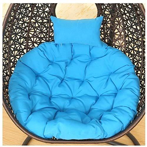 WULIANG Hangende stoel wieg mand mand mat rieten stoel volwassen schommelkussen indoor balkon mat (NO CHAIR)-F 105x105cm (41x41inch)