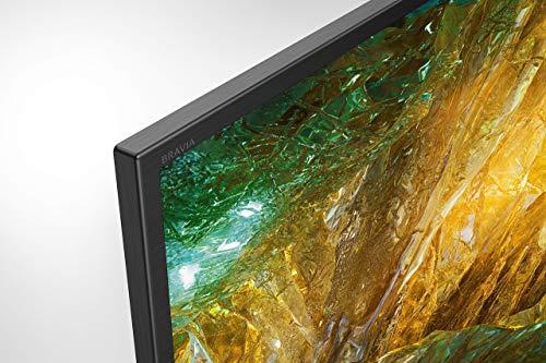 Sony KD-43XH8096 Bravia 108 cm (43 Zoll) Fernseher (Android TV, LED, 4K Ultra HD (UHD), High Dynamic Range (HDR), Smart TV, Sprachfernbedienung, 2020 Modell) Schwarz