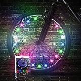 TINANA 2 Tire Pack LED Bike Wheel Lights Ultra...