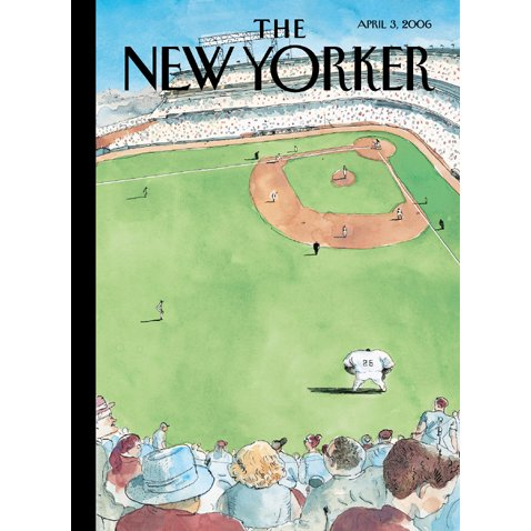 The New Yorker (April 3, 2006) cover art