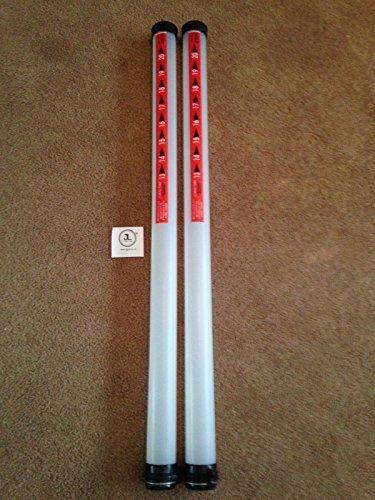 JL Golf 2 x clikka tubes Ball retriever Holds 21 balls NEW