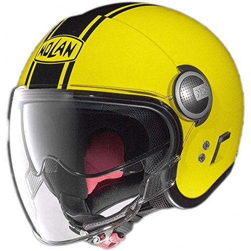 Nolan X-Lite-Casco Nolan Jet N21Duetto Visor Cafe Race Small amarillo FLUO