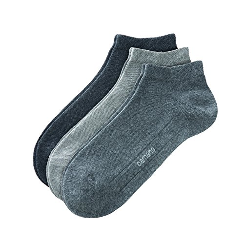 Camano Socken CA-SOFT Sneaker 9er Pack, Größe:43-46;Farbe:Dark Grey/Light Grey/Anthracite (49)