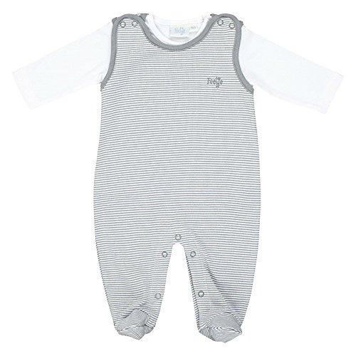 Feetje La grenouillère avec T-Shirt bébé Ensemble bébé, Gris