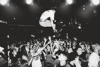 BEYONDTHEWALL® Archive Mosh Pit Stage Dive Rock Music Photography Poster Print