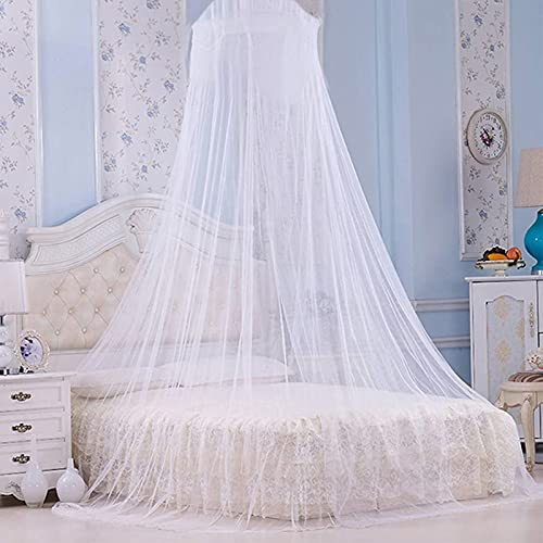 Faswin Bed Canopy for Single to King Size Beds, Home & Travel (White)