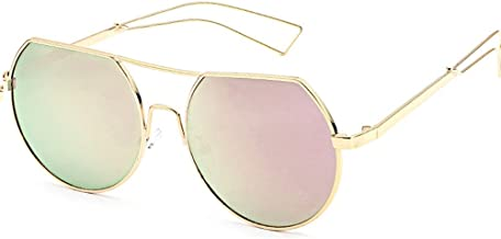Unisex Classic Round Circle Frame Sunglasses Unique Steampunk Lens Retro Metal Frame Colored Lens Uv Protection Outdoor Protection Vintage Women Men Sport Sunglasses 2019 Summer Fashion New Style