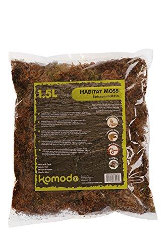 Komodo Habitat Moss, 1.5 Litre