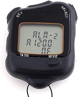 CXQWAN stoppur, match domare plast sport timer, stoppur timer, tidsverktyg för löpning sportutrustning simning