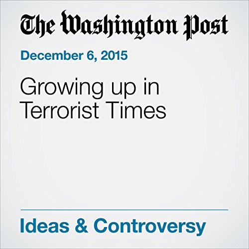 『Growing up in Terrorist Times』のカバーアート