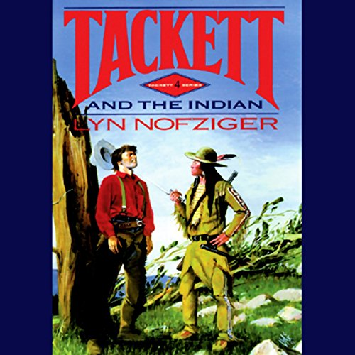 Tackett and the Indian audiobook cover art