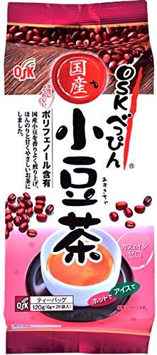 OSK(オーエスケー) べっぴん国産小豆茶ティーパック120g(6g×20袋)×3個