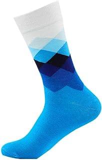 Calcetines De Colores Otoño E Invierno Xl Color Degradado Cuadrados Tubo De Hombre Algodón Calcetines D Modelos 5 Paresotoño E Invierno Xl Color Degradado Cuadrados Tubo De Hombre Algodón Calcetines