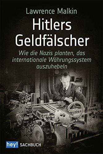 Buchseite und Rezensionen zu 'Hitlers Geldfälscher' von Lawrence Malkin