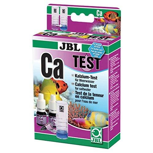 JBL Schnelltest zur Bestimmung des Kalziumgehalts in Meerwasser Aquarien, Calcium Test, 25400