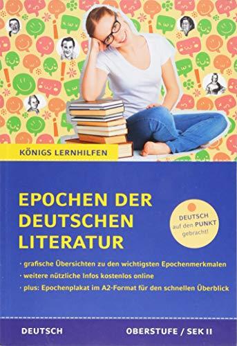 Epochen der deutschen Literatur.: Alle wichtigen Epochen und Strömungen der deutschen...