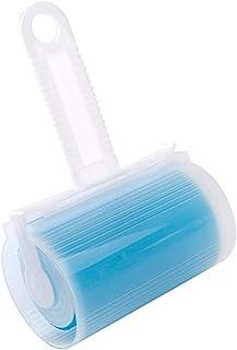 AKRI 粘着 クリーナー ほこり取り 水洗え 繰り返し使える 埃 髪 ペット 毛取り 粘着式クリーナー ローラー 掃除用品 ブルー ピンク イエロー グリーン