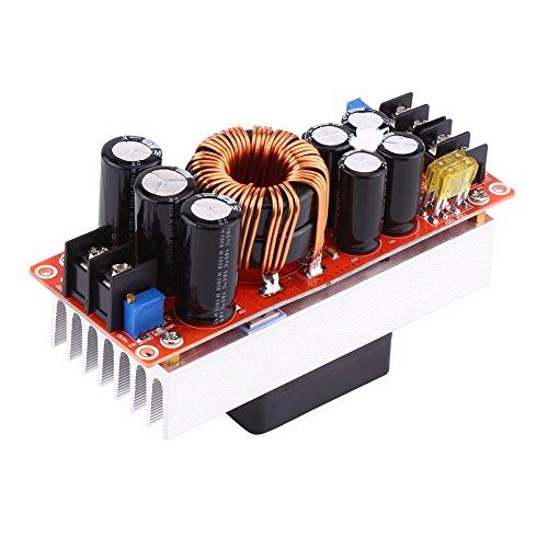 1500W 30A Boost Converter, DC-DC Boost Convertidor Tensión de salida ascendente Ajustable Bajante Módulo Regulador de voltaje Estabilizador de voltaje Fuente de alimentación ajustable