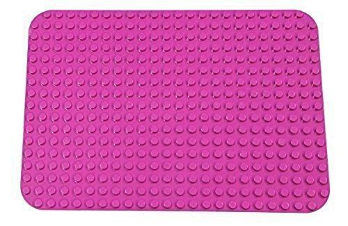 Premium-Bauplatte - kompatibel mit Bausteinen Aller führenden Marken - nur für Steine mit großen Noppen geeignet - 15
