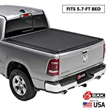 BAK Revolver X4 Hard Rolling Truck Bed Tonneau Cover | 79227 | Fits 2019-20 New Body Style Dodge Ram 1500, Does Not Fit With Multi-Function (Split) Tailgate 5'7' Bed