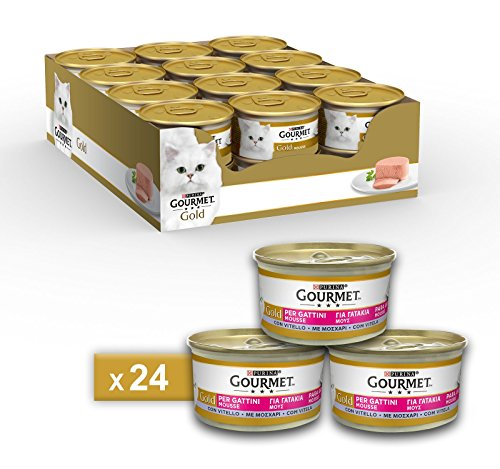 Gourmet purine Gold Humide Chat Mousse pour Chatons...
