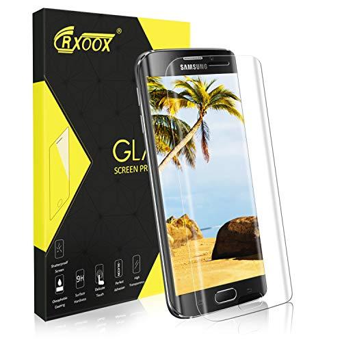 Vetro Temperato per Samsung Galaxy S6 Edge, [3D Copertura Completa] Pellicola Protettiva in Vetro Temperato Screen Protector Trasparente, [3D Touch Compatibile] [9H Durezza] Senza Bolle
