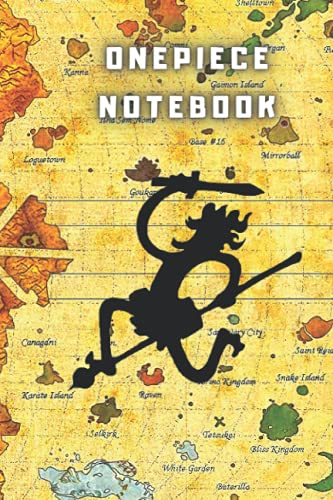 Anime Notebook One Piece: ONE PIECE Journal for Writing: One Piece Notebook 108 PAGES