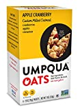 Umpqua Oats Apple Cranberry Custom Milled Oatmeal, 2 Boxes of 6 (12 Packets)