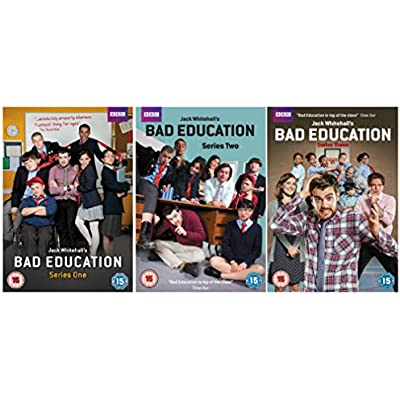 Cheap Bbc Bad Education Complete Series 1 3 Dvd Collection Extras Making Of Bad Education Video Diaries And With Special Guest Appearances From Harry Enfield Samantha Spiro Jake Canuso Frances