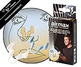 Airmax Nasenklammer, gegen Verstopfungen der Nase, Sportausführung, 2 Stück in Größen S und M
