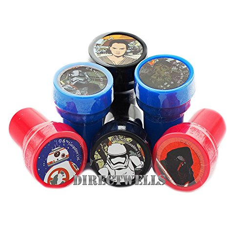 Disney Star Wars Stampers Party Favors 10 Pcs Set