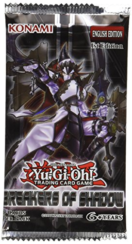 YU-GI-OH! Breakers of Shadow Booster-Pack, Sammelkarten, Mehrfarbig
