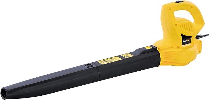 404 opinioni per kukumax Elettrico Soffiatore 2000W,Due velocità, 260 kmH,Giallo