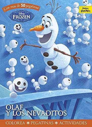 Frozen. Olaf y los nevaditos: Colorea. Pegatinas. Actividades (Disney. Frozen)