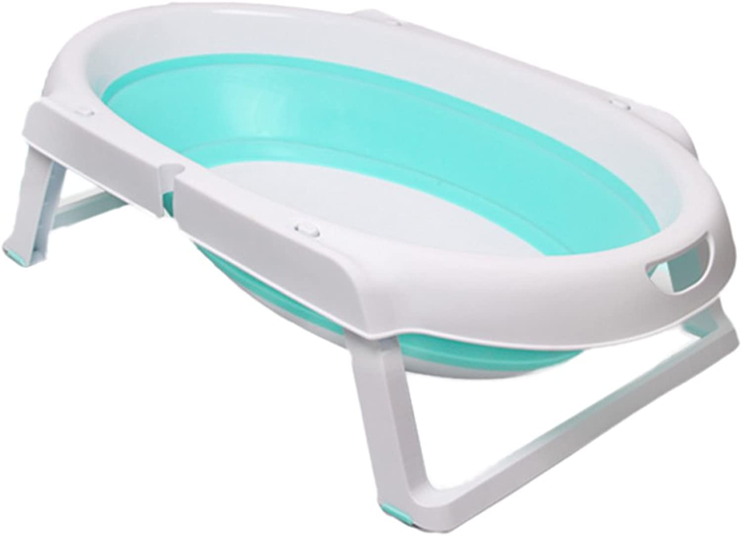 Baby folding portable bathtub baby can sit portable shower basin tub