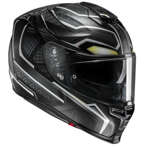 HJC casco rpha70 black panther mc5sf