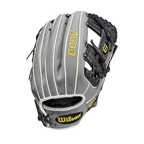 Wilson Sporting Goods Mens A500 Baseball 11 Glove Black L